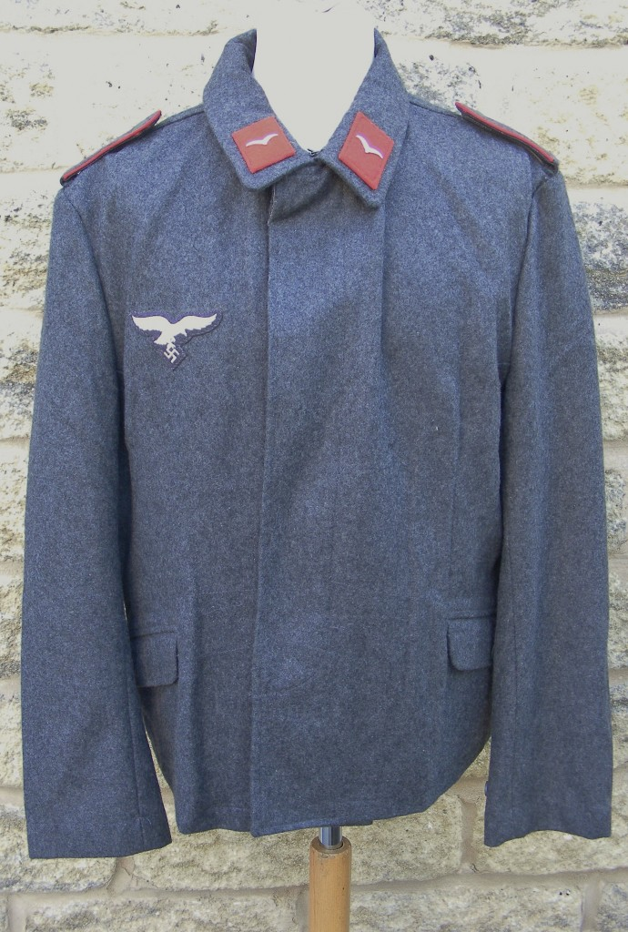 62ffb1e80e6 Luftwaffe Fliegerbluse | Richard A Underwood, Militaria Re-enactment ...