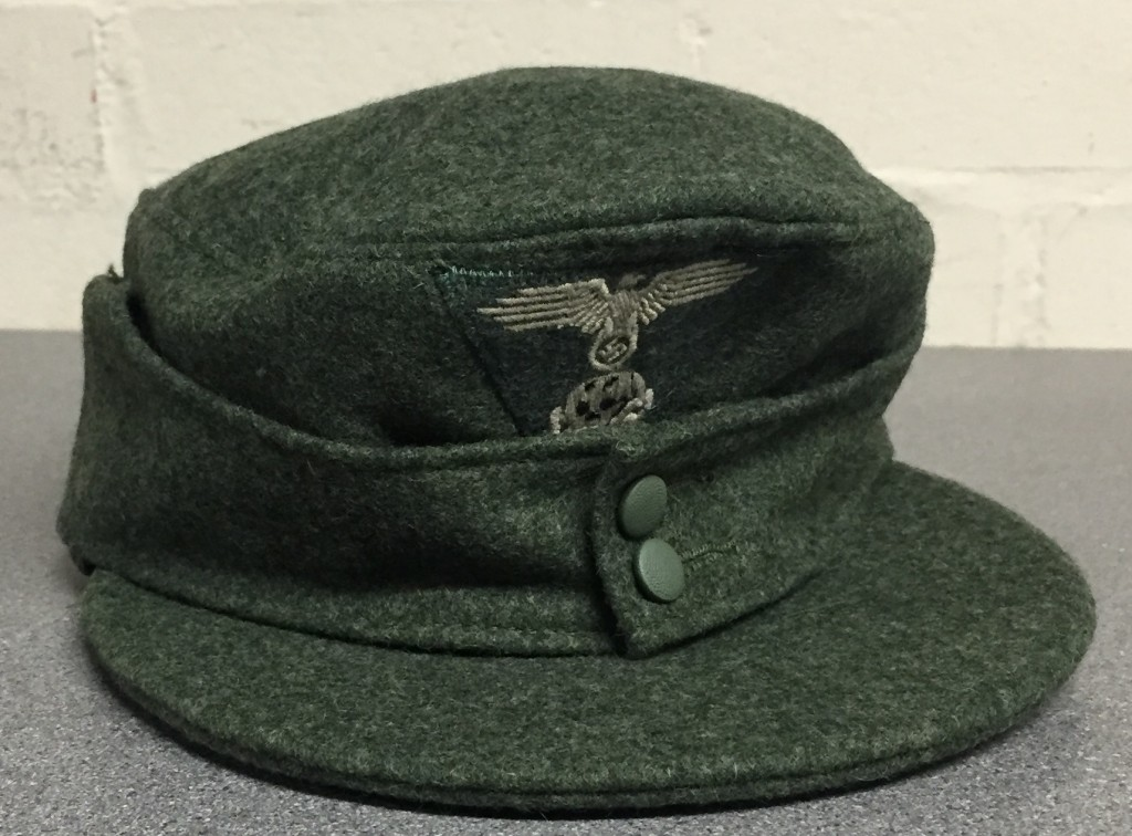 Waffen SS Field Cap With Badge EREL056