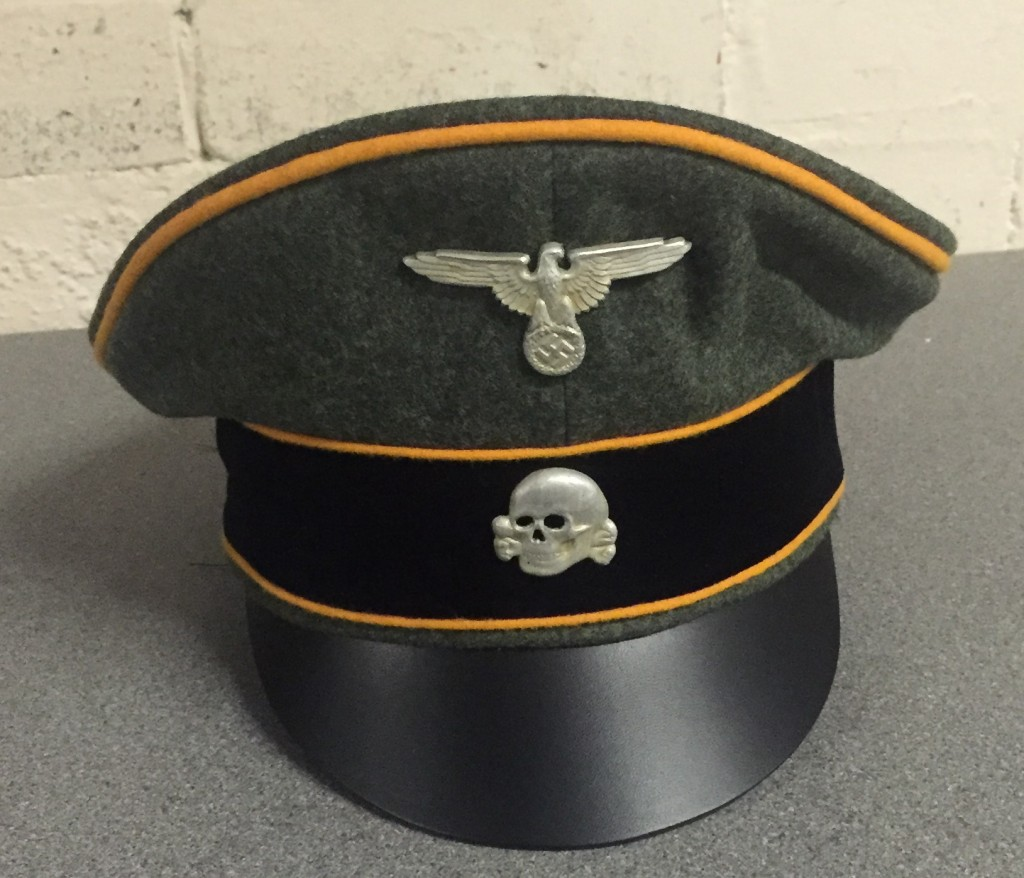 1ceb3daeb12 Waffen SS Crusher Cap by EREL with Recon Piping EREL011
